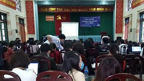 Tập huấn hệ thống dạy và học trực tuyến VNPT E-learning