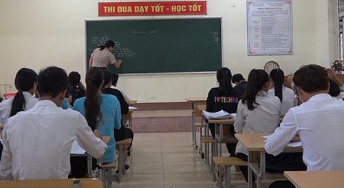 Trung tâm Giáo dục nghề nghiệp – Giáo dục thường xuyên huyện  phối hợp thực hiện tốt công tác hướng nghiệp, phân luồng học sinh.
