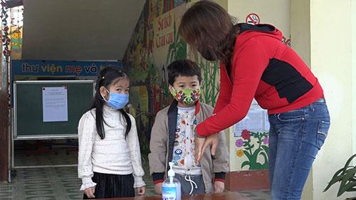 Trường Mầm non Xương Thịnh đón học sinh lớp 5 tuổi đi học trở lại ...