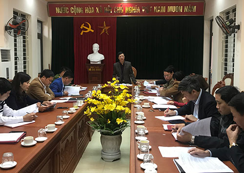 UBND huyện Cẩm Khê họp Ban chỉ đạo Hội khỏe Phù Đổng cấp huyện năm học 2019 - 2020