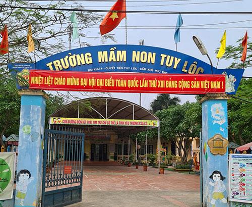 Công tác khuyến học, khuyến tài ở trường Mầm non Tuy Lộc