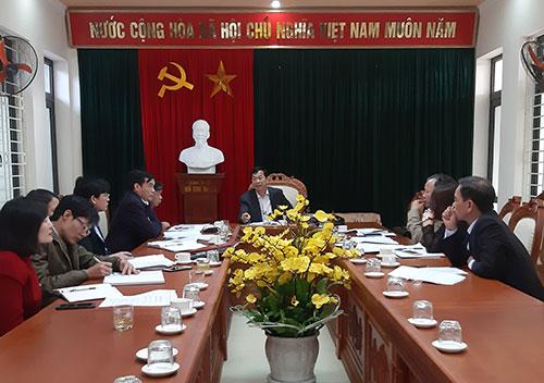 Thường trực HĐND huyện Cẩm Khê tổ chức phiên họp thường kỳ tháng 12/2019